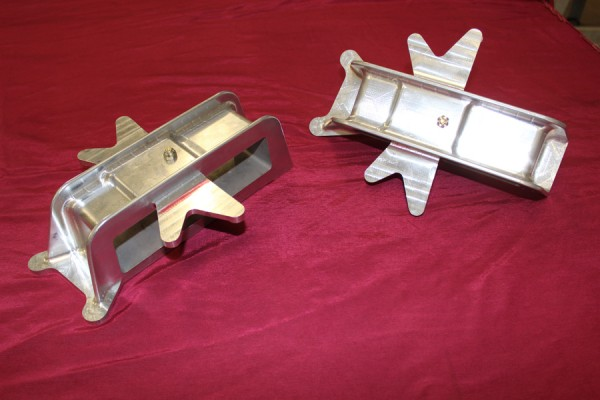 Aileron sector support boxes machined by one of the teams specialized shops. (photo via Tom Reilly)