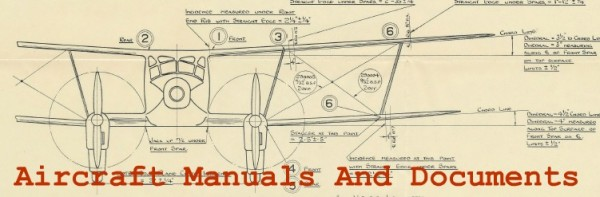 Aircraft Manuals And Documents