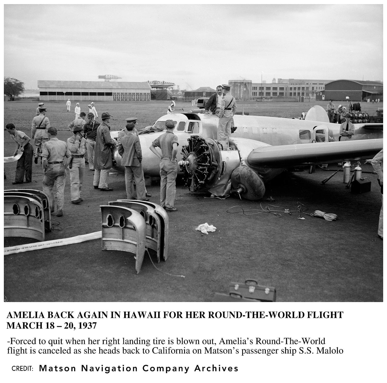 Amelia Earhart's 1937