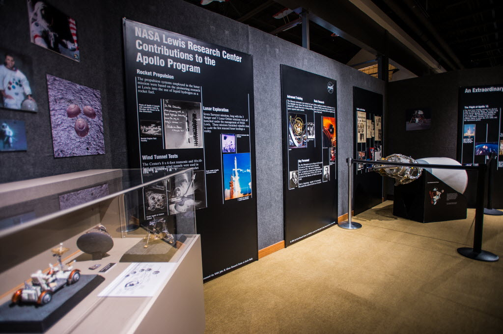 Apollo exhibit brings artifacts from the moon