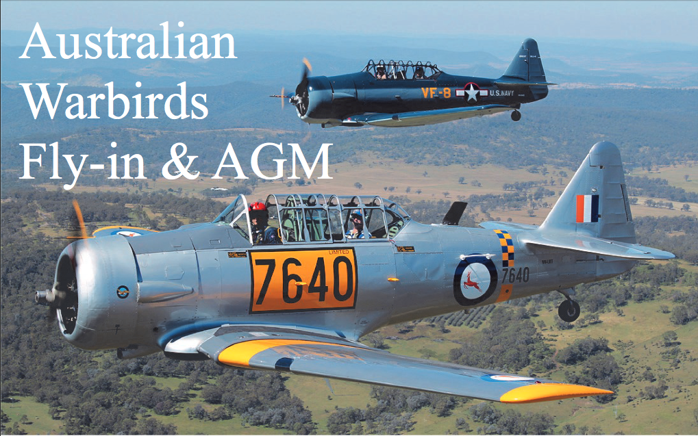 Australian Warbirds FlyIn and AGM