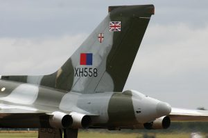"Appropriately named ""Spirit of Great Britain,"" Vulcan XH558 is a prime attraction at air shows on the British Isles (Image Credit: Alan Wilson CC 2.0)"