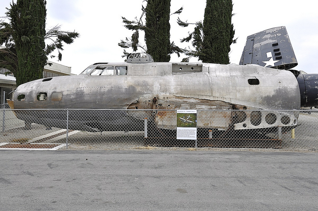"One of the most talked about artifacts of American aviation history -- the Boeing B - 17E Flying Fortress bomber #41 - 2446 ""Swamp Ghost"""