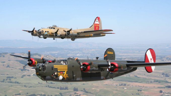 Wings Of Freedom Tour 2020.World War Ii Bomber And Fighter Aircraft Rides At Museum