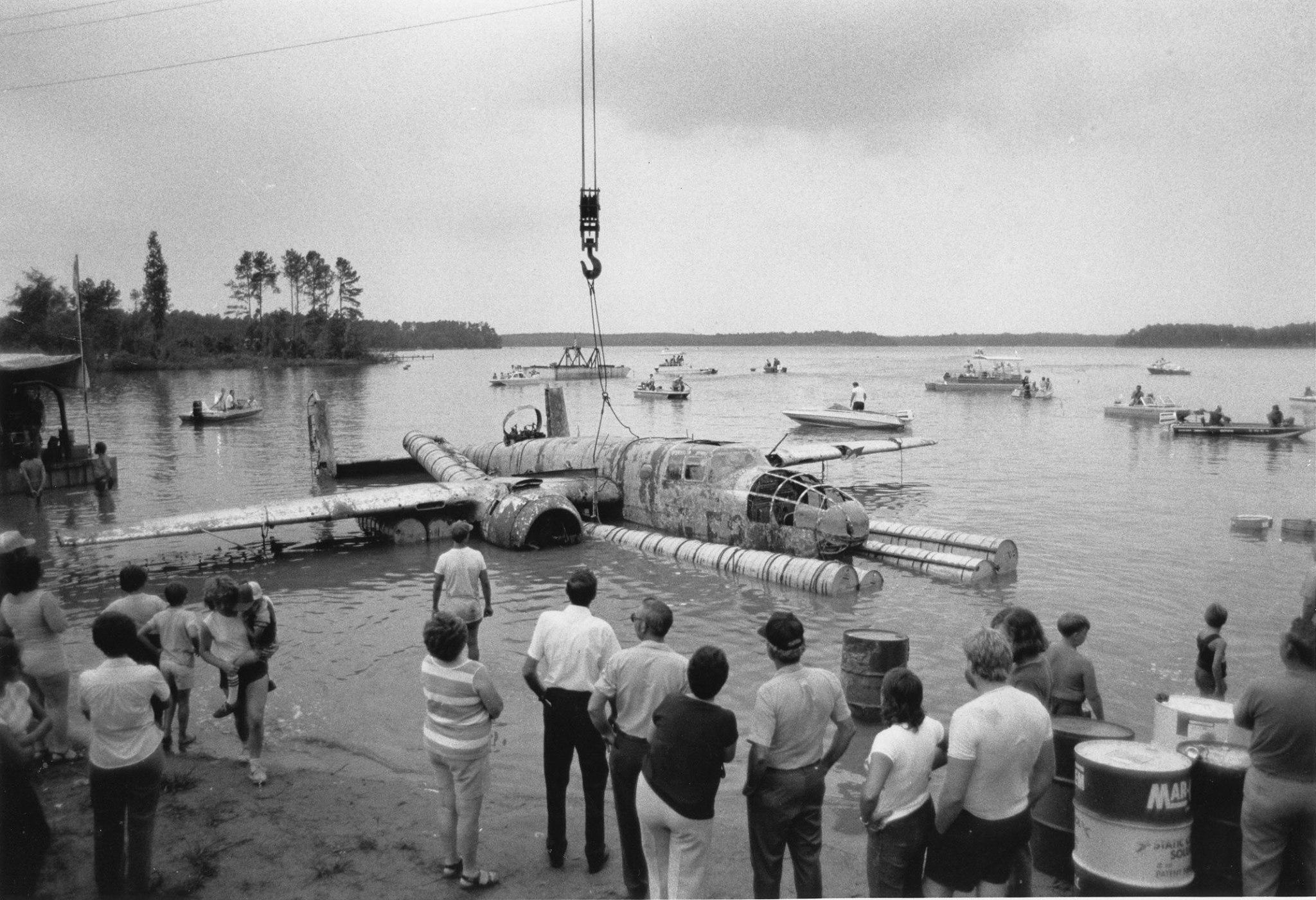"B-25 ""Skunkie""_1983 Recovery"