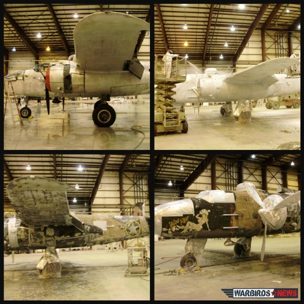 B-25 collage