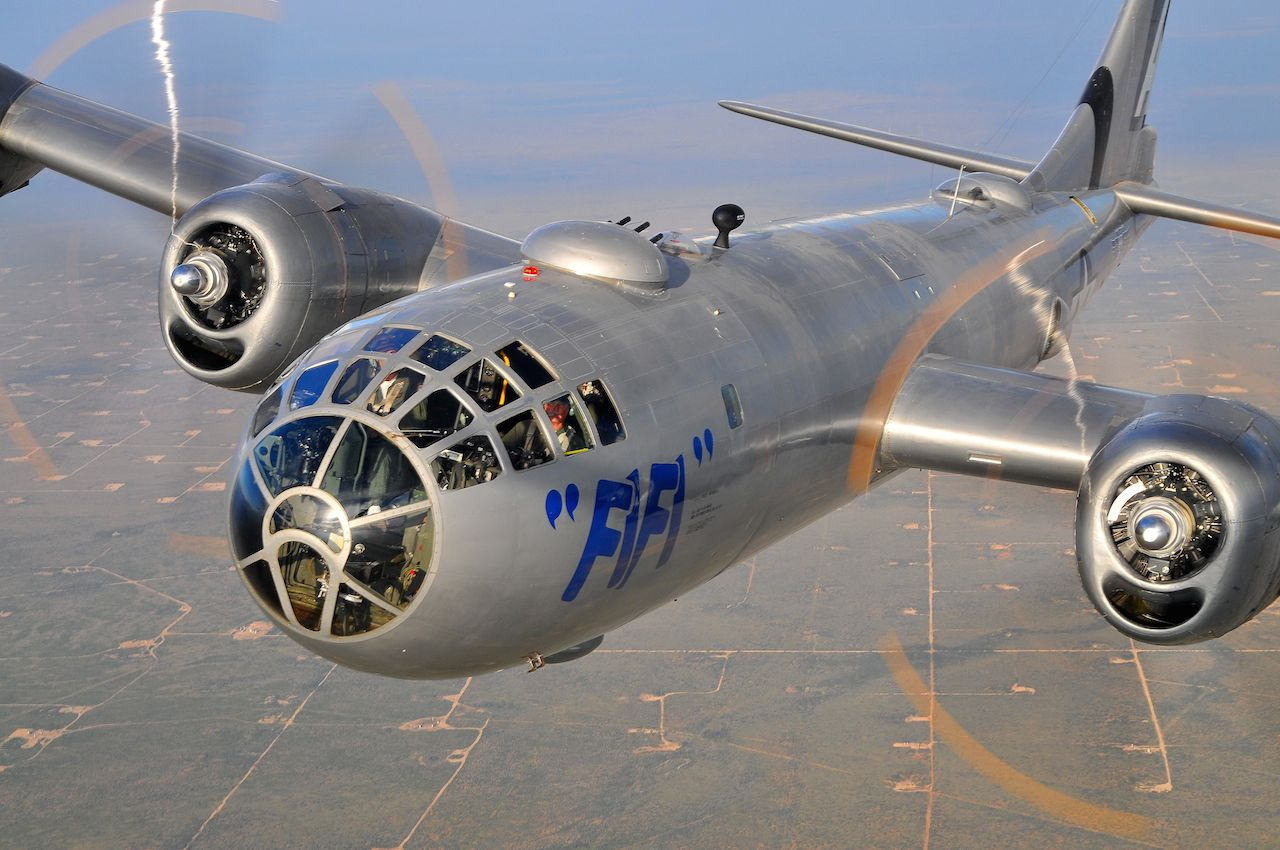 B-29 FIFI captured by Scott Slocum.