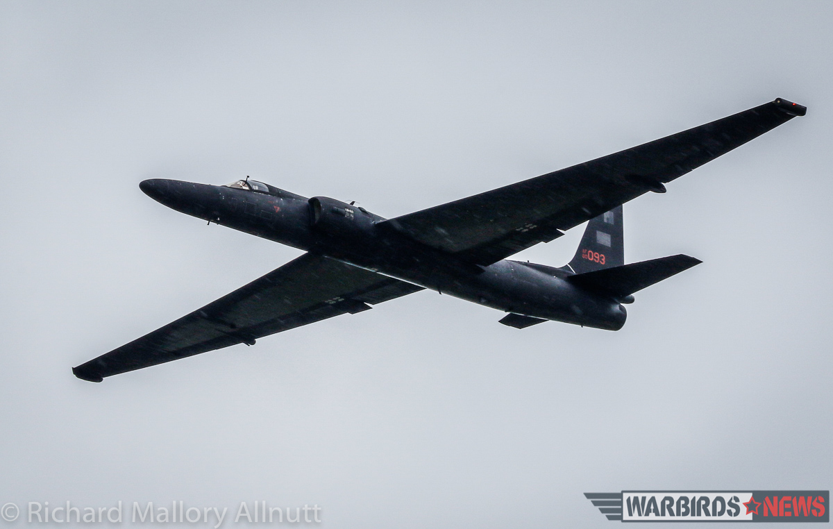 A U-2 Dragon Lady made a brief fly-by at AirVenture 2016. (photo by Richard Mallory Allnutt)