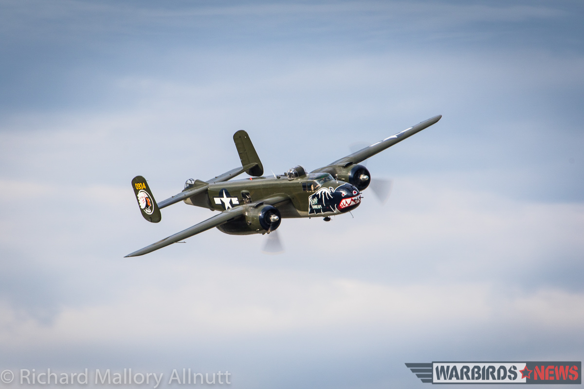 Texas Flying Legends' magnificent B-25J Mitchell. (photo by Richard Mallory Allnutt)