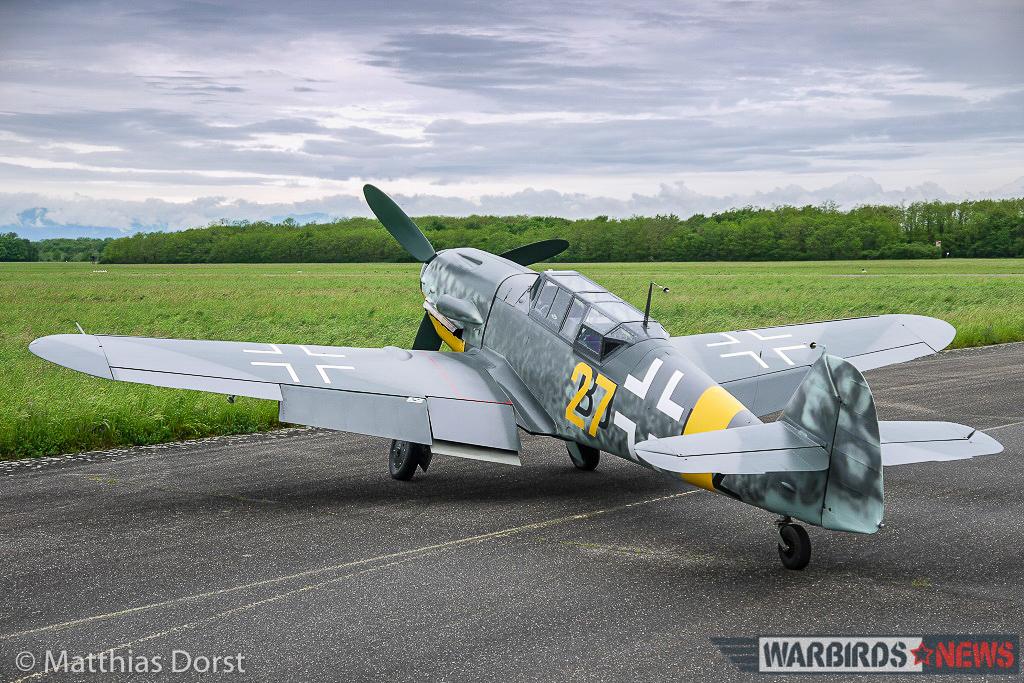 Bf109 G-12 (1)_(Matthias Dorst)