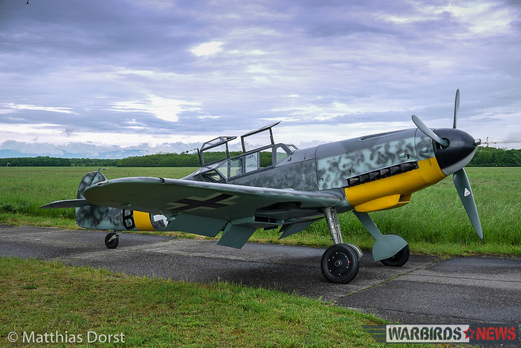 Another nice shot of the G-12 with her canopies open. (photo by Matthias Dorst via Klassiker der Luftfahrt)