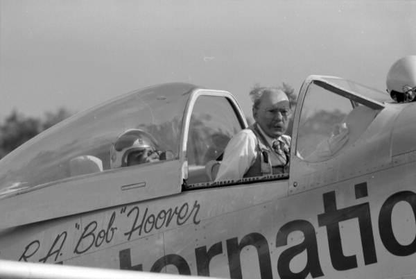 "Bob Hoover in P-51 ""Old Yeller"""