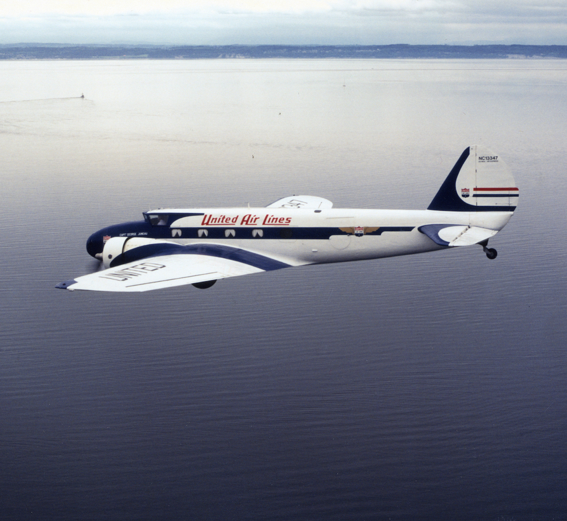 Boeing 247D copy