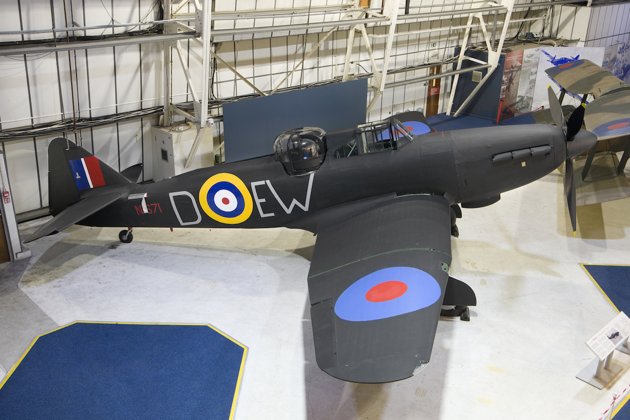 The Wolverhampton built Boulton Paul Defiant Mk 1