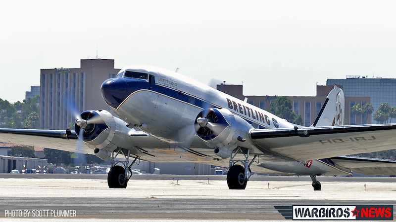 Breitling DC-3 Returning After Flight Over Orange County copy