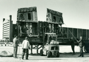 Bolingbroke parts arrive at the museum. (Image Credit: Canadian Warplane Heritage Museum)