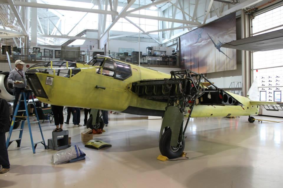 Canadian Warplane Heritage Museum Bristol Bolingbroke