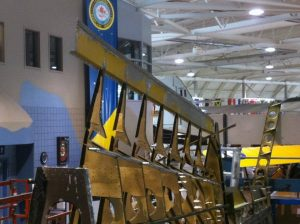 Bolingbroke internal wing structure currently under restoration. (Image Credit: Canadian Warplane Heritage Museum)