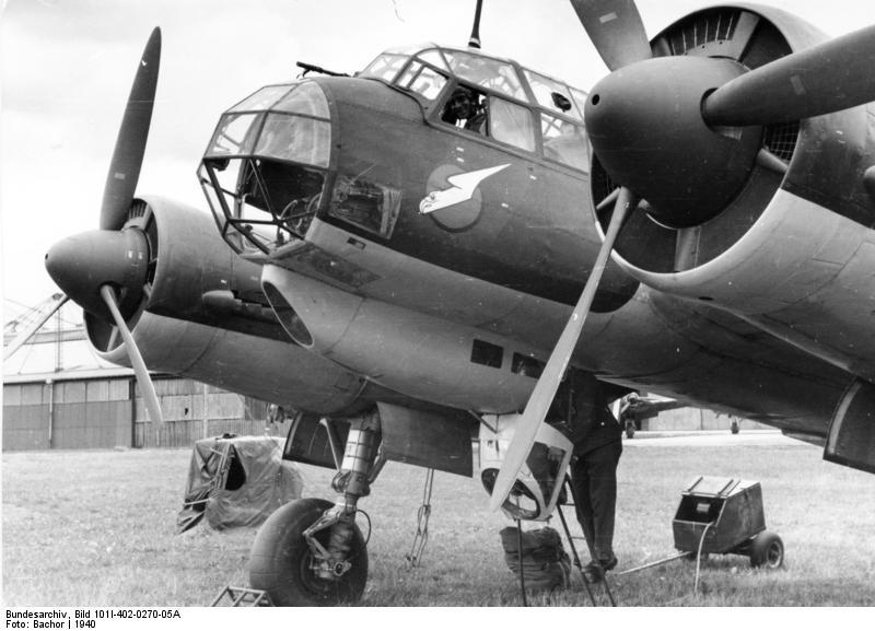 Flugzeug Junkers Ju 88