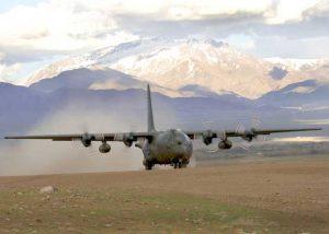 C-130K in Afghanistan  (Image Credit: Royal Air Force)