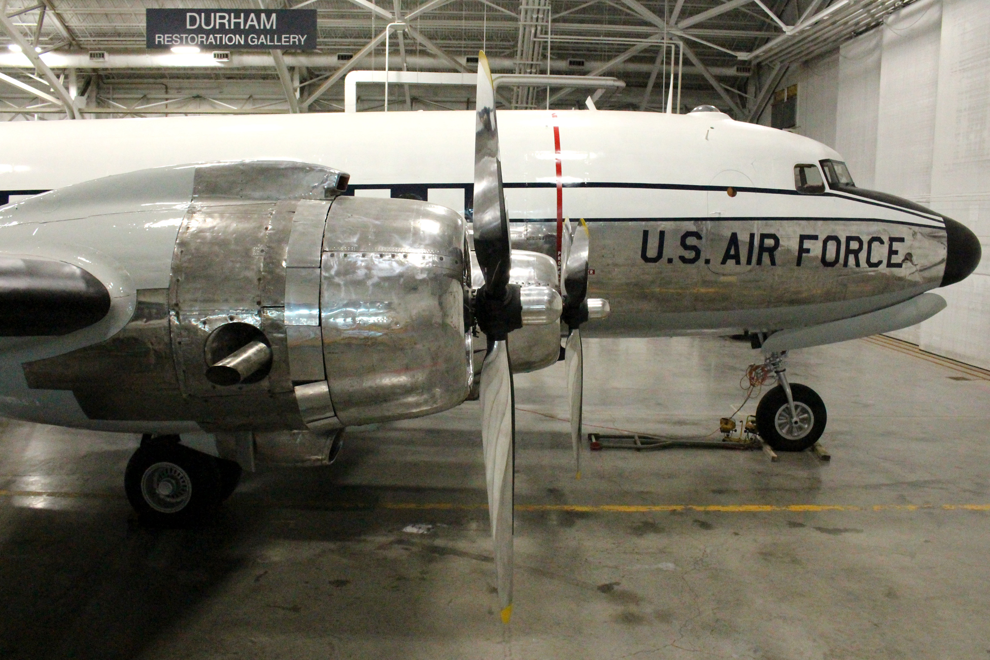 -54D, S/N 42-72724 : SAC Museum's C-54 was manufactured by Douglas Aircraft, Chicago, Illinois, and delivered to the USAAF on July 16, 1945.