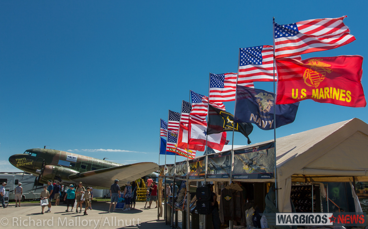 The Commemorative Air Force had a strong presence at Oshkosh. (photo by Richard Mallory Allnutt)