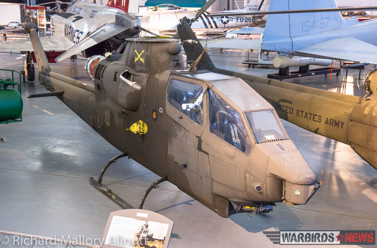 Veteran of over 2,100 combat flight hours during the Viet Nam War, this US Army AH-1F Cobra is slowly going back together, having recently arrived from decades-long storage at the NASM's Paul E. Garber Facility in Suitland, Maryland. (photo by Richard Mallory Allnutt)