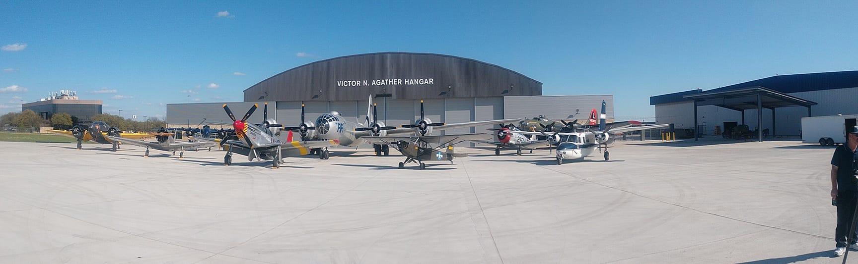 CAF Henry B. Tippie National Aviation Education Center_FIFI Hangar