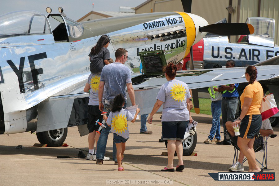 "THe P-51D "" Long Island Kid"""
