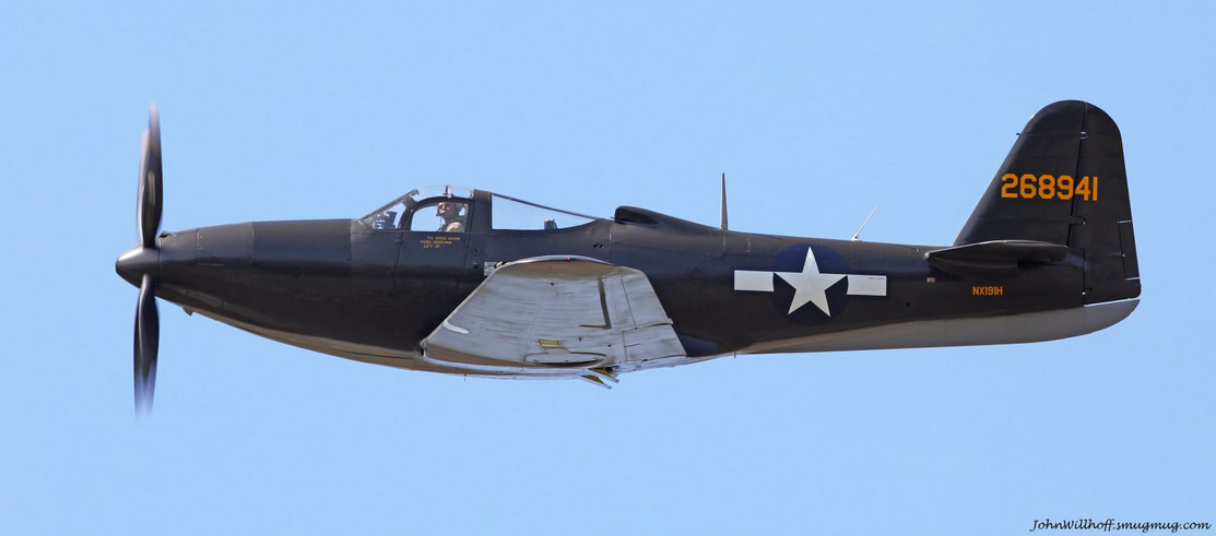 The Dixie Wing's P-63A the day it returned from the paint booth at Delta TechOps. Photo by John Willhoff