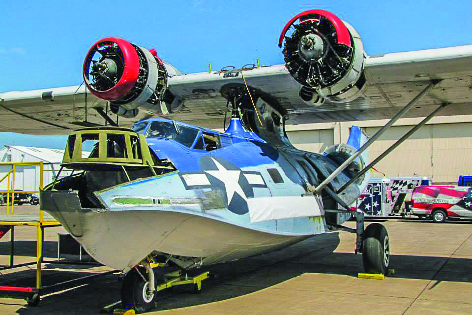 The CAF Lake Superior 101 Squadron's Consolidated PBY Catalina.