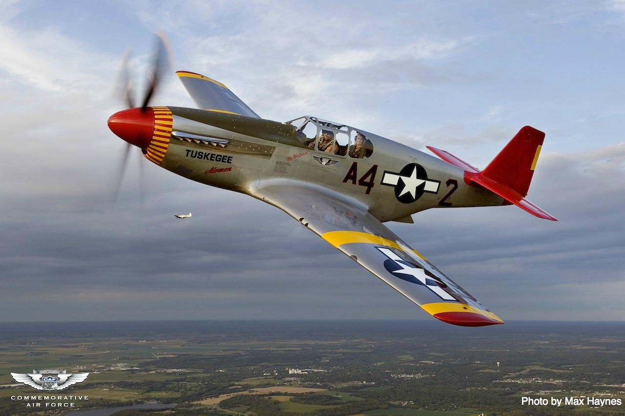CAF_P-51C Tuskegee Airmen_Max Haynes3