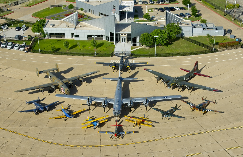 CAF Airplanes at Dallas Executive Airport in April 2014. ( Photo by Scott Slocum)