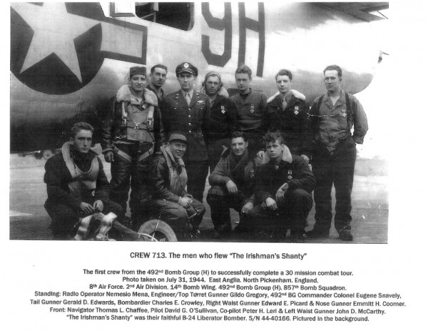 Crew 713 with their Liberator  (Image via Alex Mena)