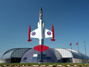 The Canadian Warplane Heritage Museum's architecturally stunning and state of the art facility. (Image Credit: Canadian Warplane Heritage Museum)