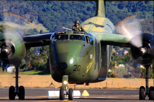 RAAF Caribou At Wings Over Illawarra Air Show 2012. ( Image credit Nick Foss)