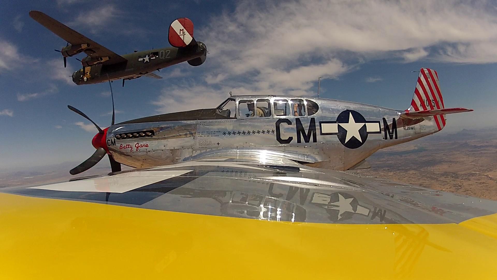Collings Foundation P-51 Betty Jane