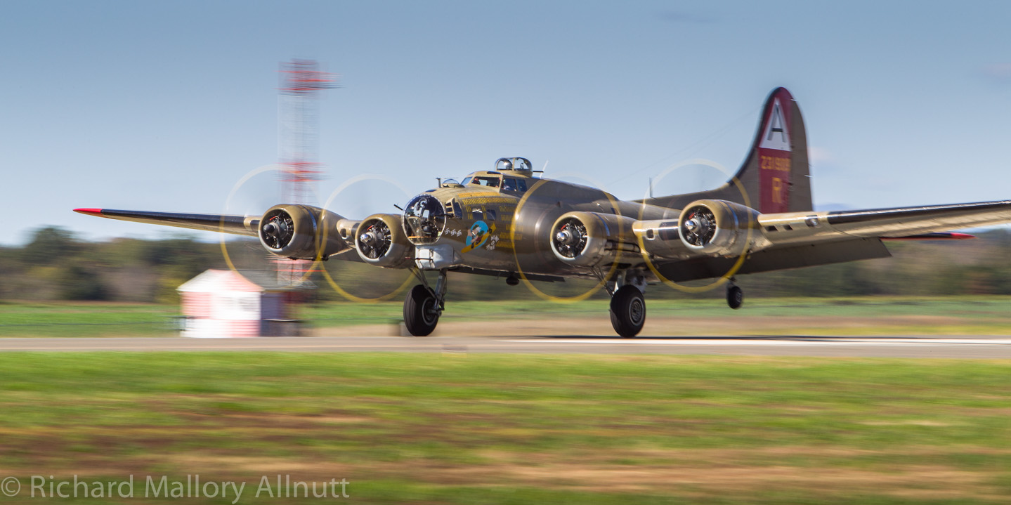 Participants in Bomber Camp will be learning and flying aboard the Collings Foundation's B-17G 'Nine-o-Nine'. (Photo by Richard Mallory Allnutt)