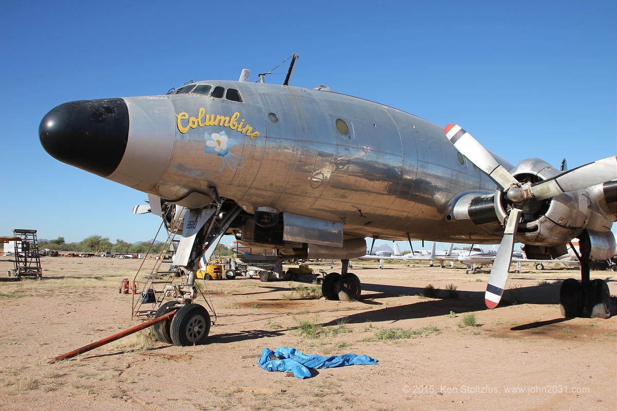 Columbine II is nearly ready to make her first flight again following a marathon, years-long  effort by Dynamic Aviation and their team of volunteers in Marana, Arizona. (photo by Ken Stoltzfus)