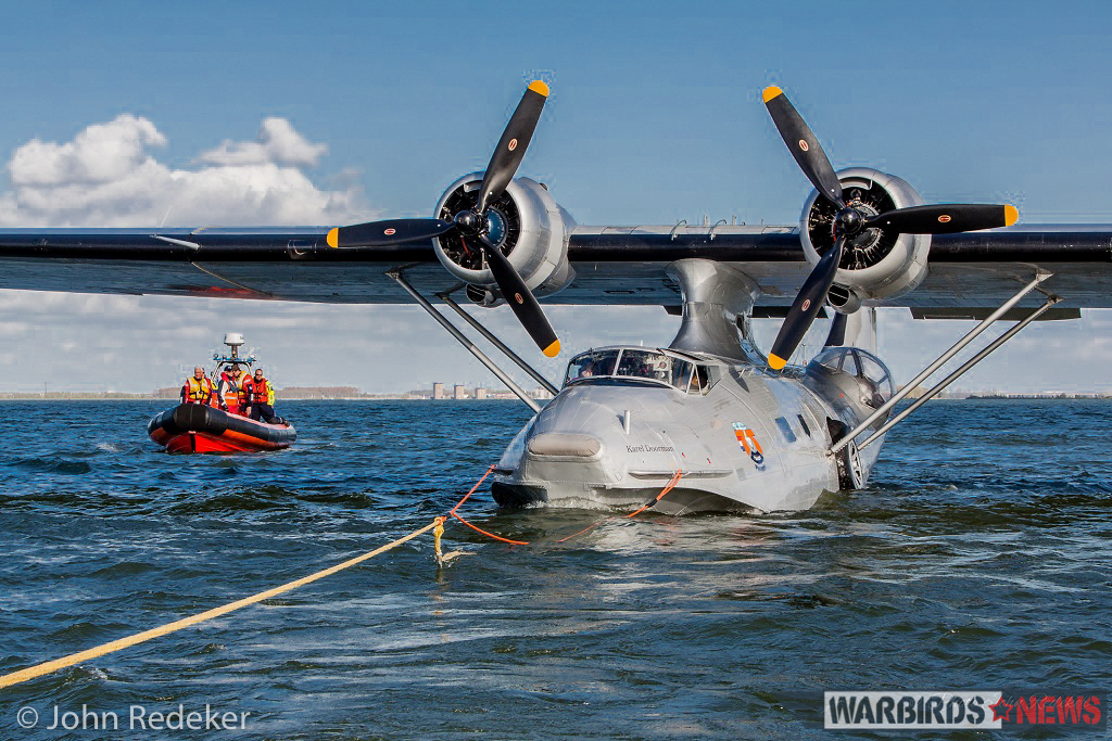 PBY-5A Bu.2459 is based in Lelystad, Holland, and has been a prominent fixture in the Netherlands for the past two decades (photo by John Redeker)