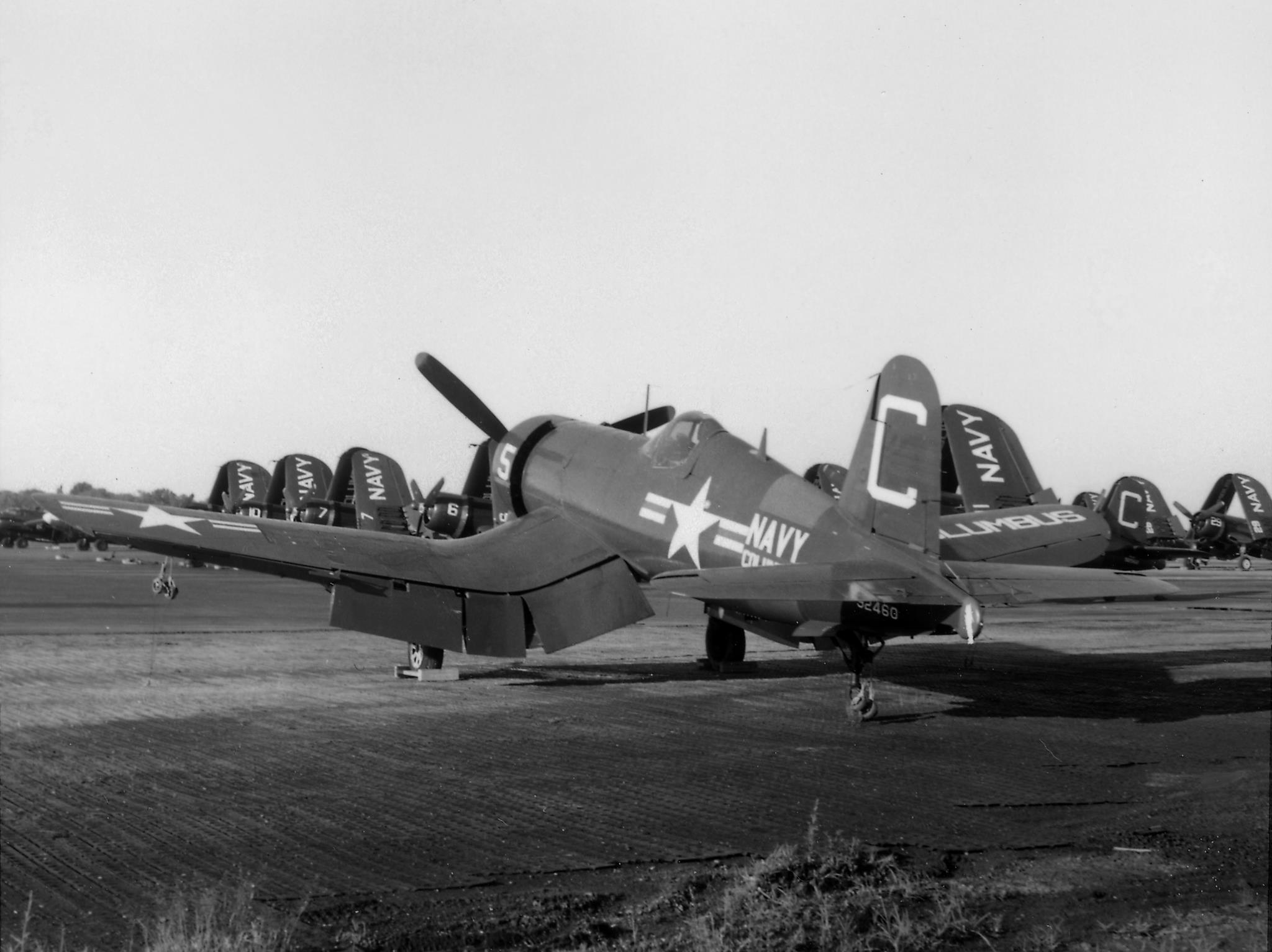 CASC's Corsair 92460 during her days with the Naval Reserve in Columbus, Ohio. (photo via CASC)