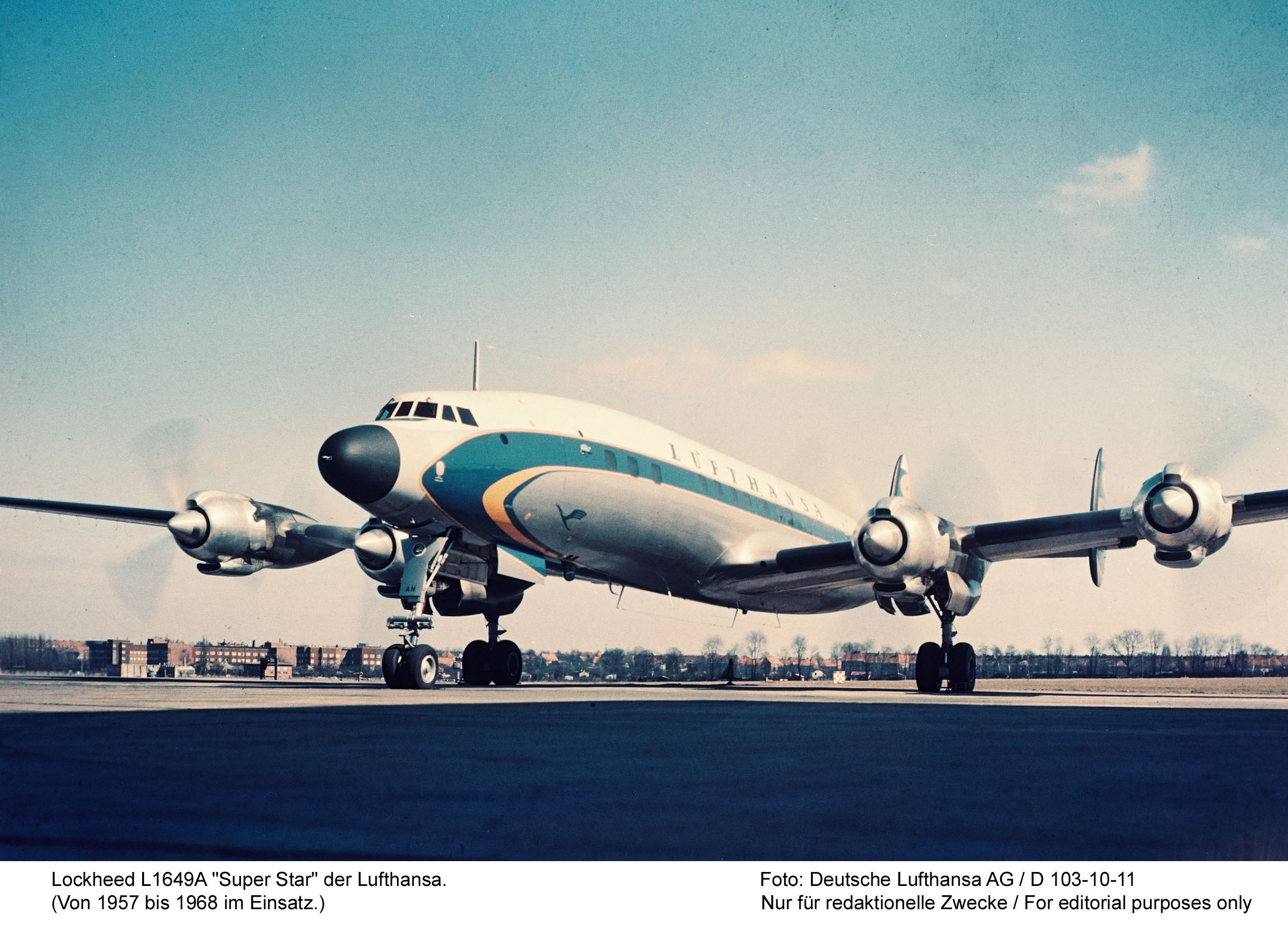Another beautiful image of a Lufthansa Super Star. (Deutsche Lufthansa image via Wolfgang  Borgmann)