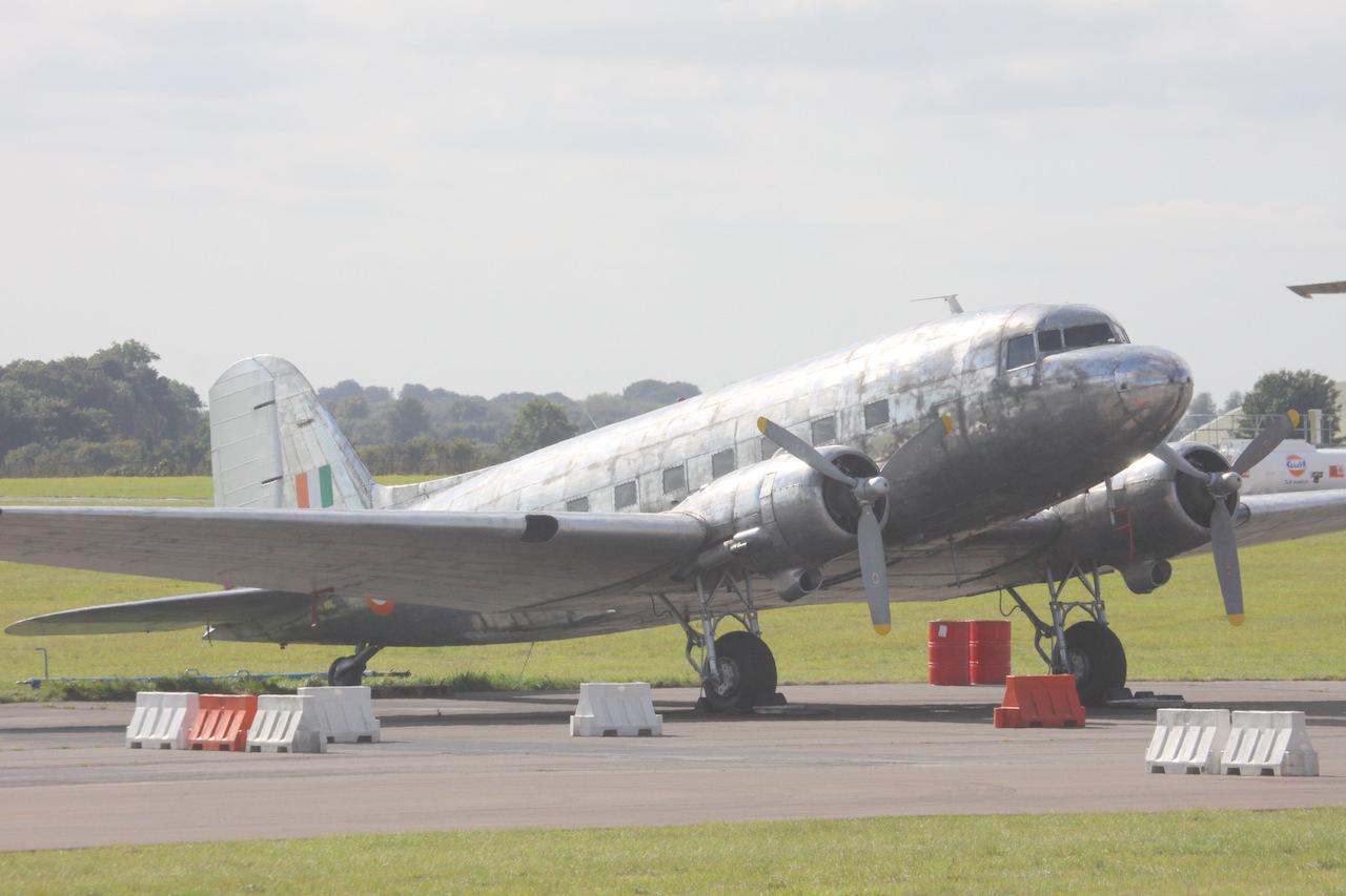 DC-3 N347DK (c/n 32820) Image by Geoff Jones.