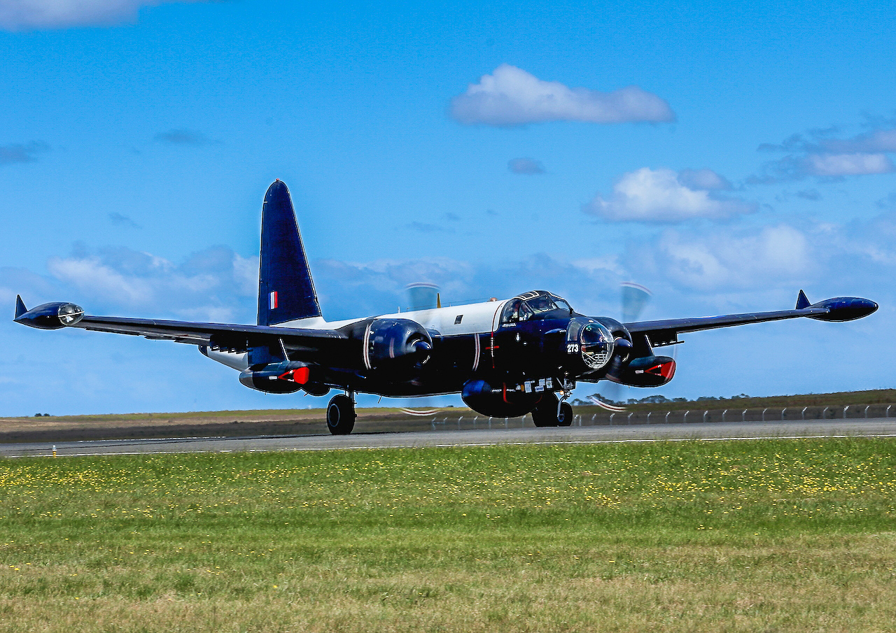 One of HARS two Lockheed P2V-7 Neptunes. (photo by Andrew McLennan)