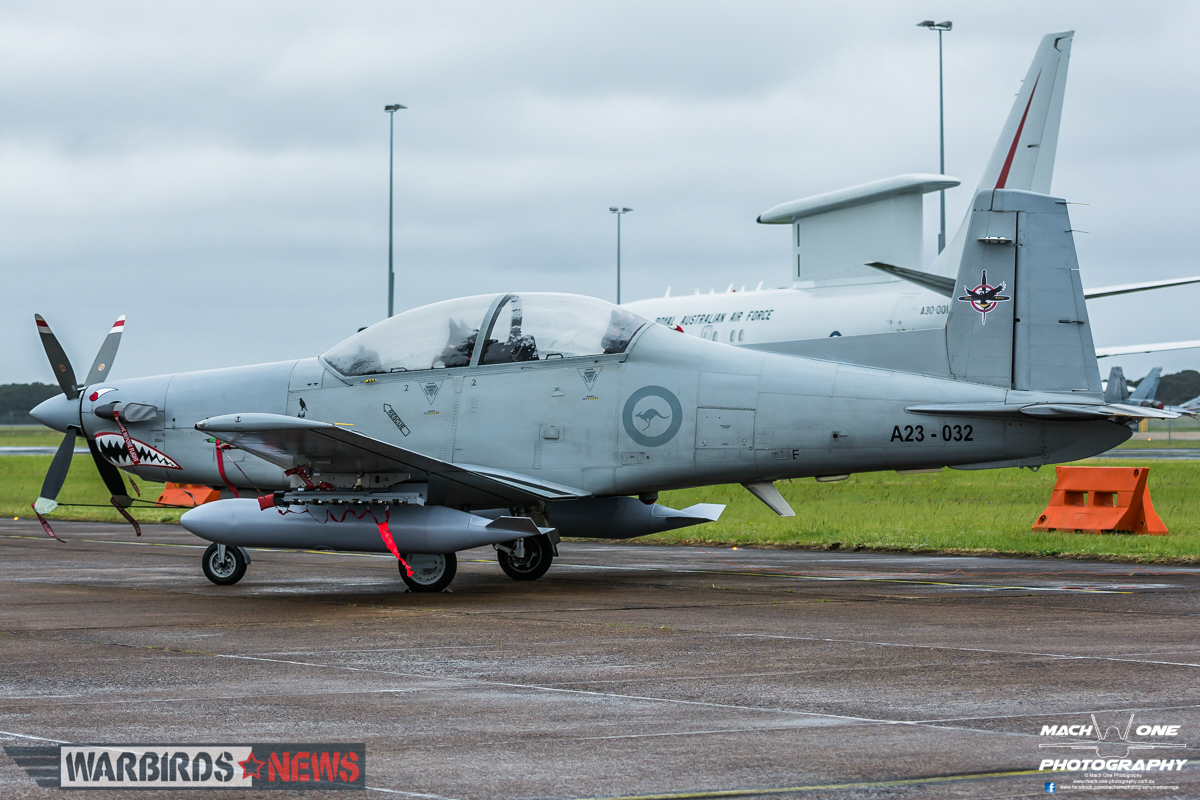 Pilatus PC-9/A(F) A23-032, operated by 4 Squadron RAAF. (Photo by Matt Savage/Mach One Photography)