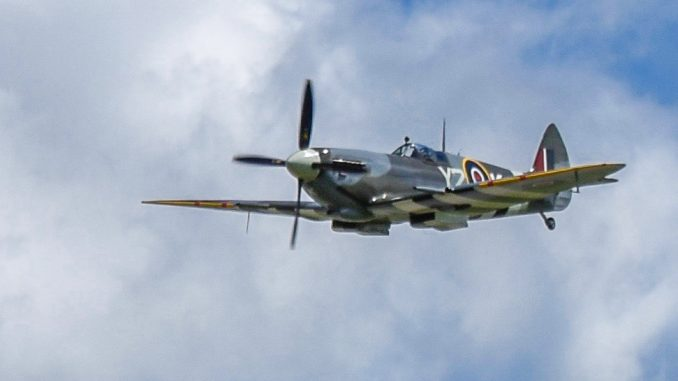 Vintage Wings' Boss Flies the 'Roseland' Spitfire for the