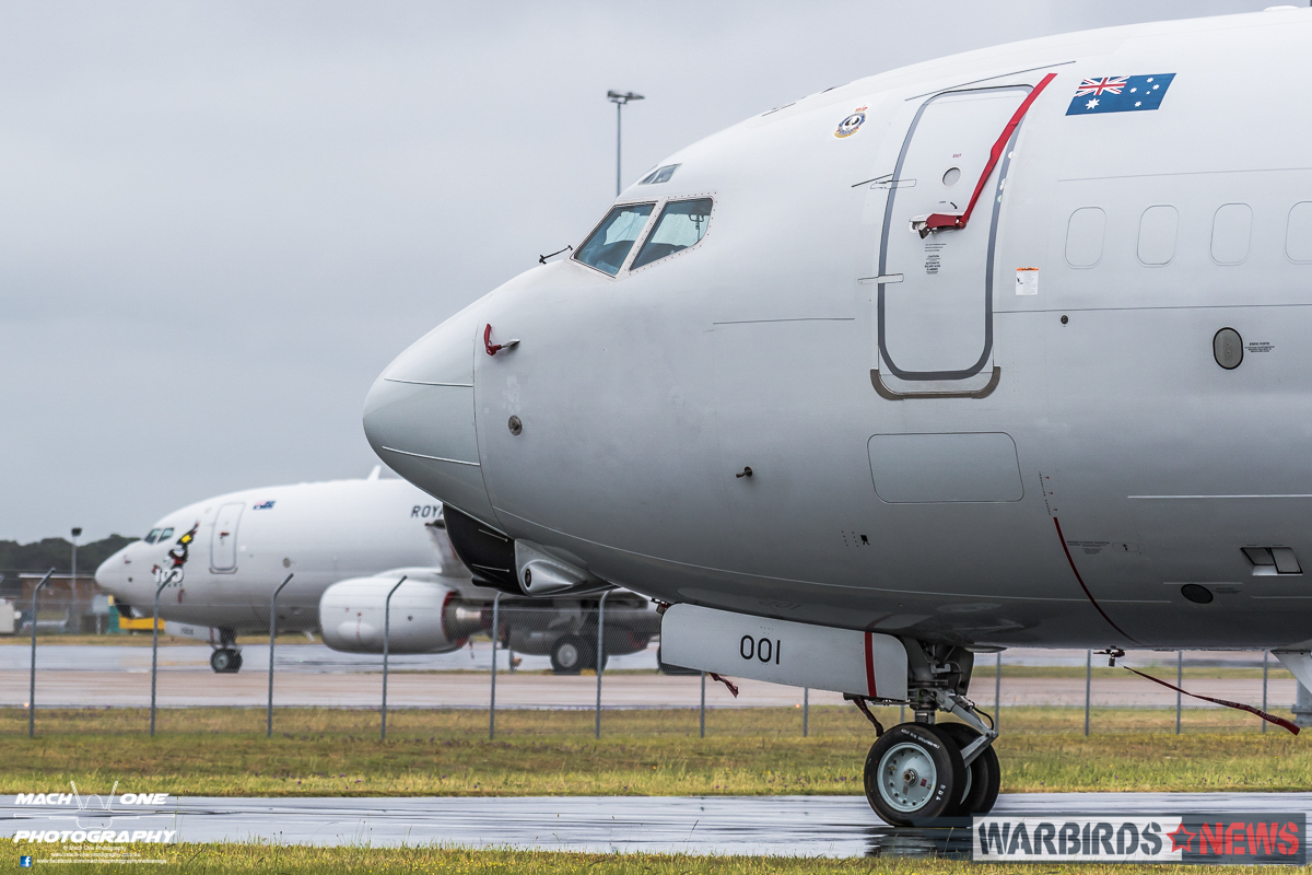 No.2 Squadron Wedgetails at rest. (Photo by Matt Savage/Mach One Photography)
