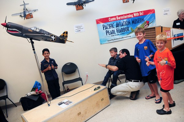 The Pacific Aviation Museum has one of the best educational program in the nation.
