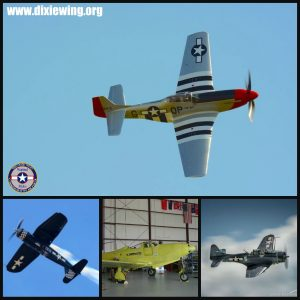 The Dixie Wing warbird collection.