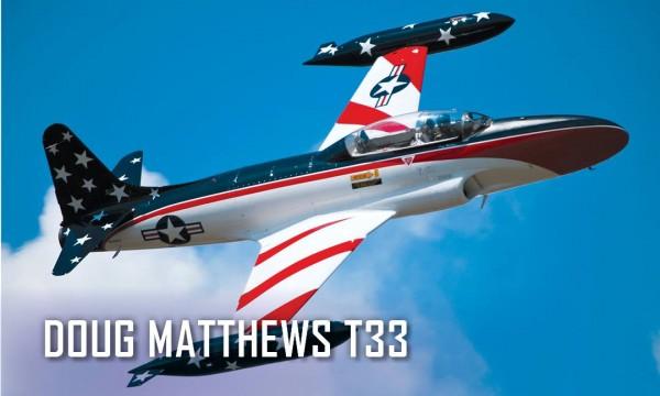 Doug Matthew's Lockheed T-33 Shooting Star.